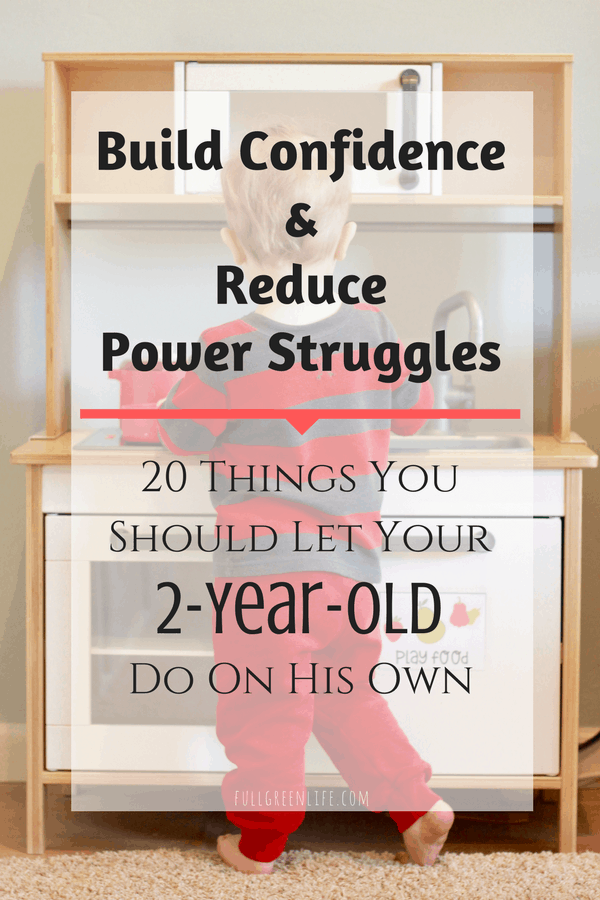 Build Confidence&Reduce Power Struggles