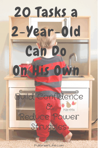 Managing 2-year-old behavior