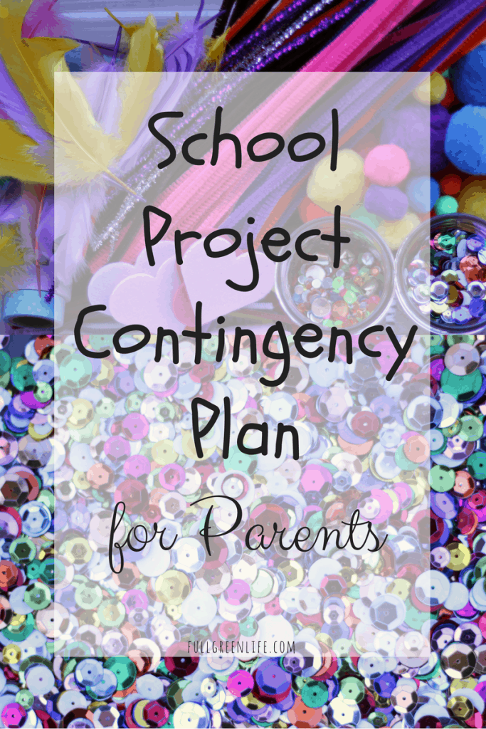 school project contingency plan