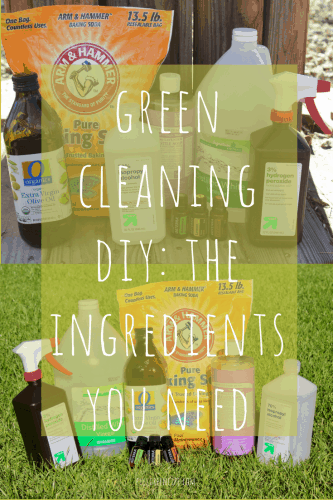 diy green cleaning