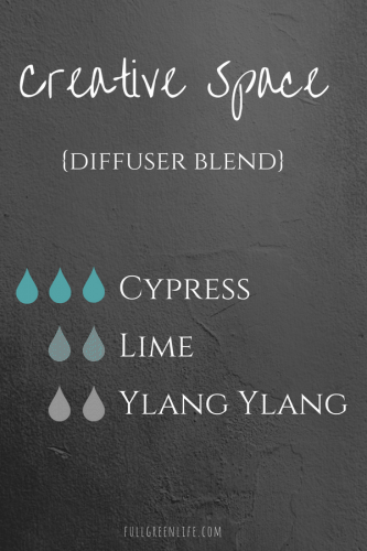 Creative Space diffuser blend