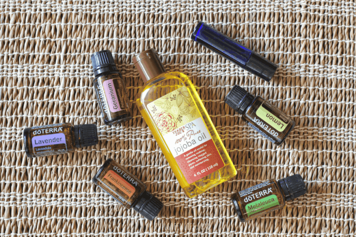 DIY Face Serum with Essential Oils