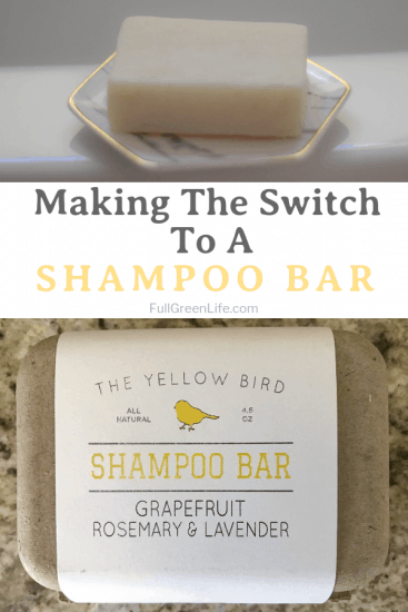 Switching To A Shampoo Bar