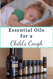 Essential Oils for a child's cough