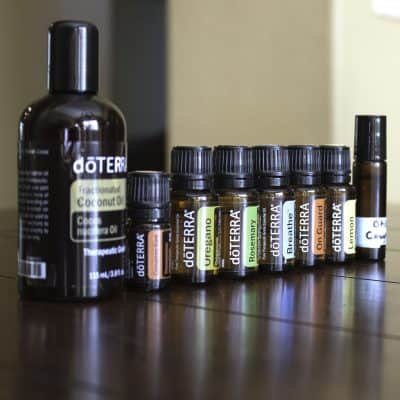 essential oils for child's cough