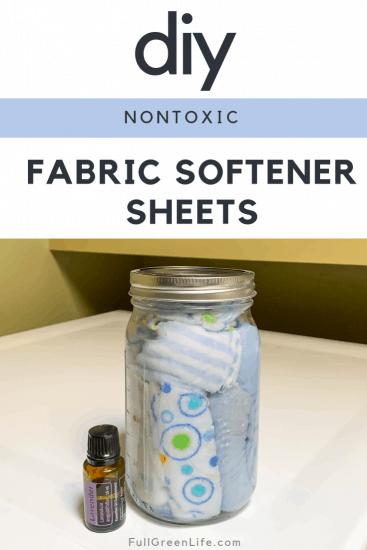 DIY Nontoxic Fabric Softener Sheets