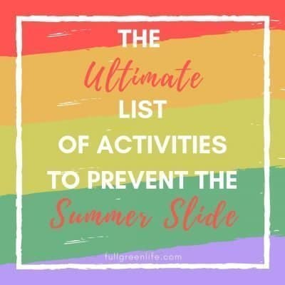 list of activities to prevent summer slide