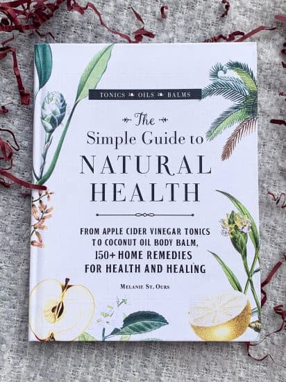 image shows the cover of the book The Simple Guide to Natural Health