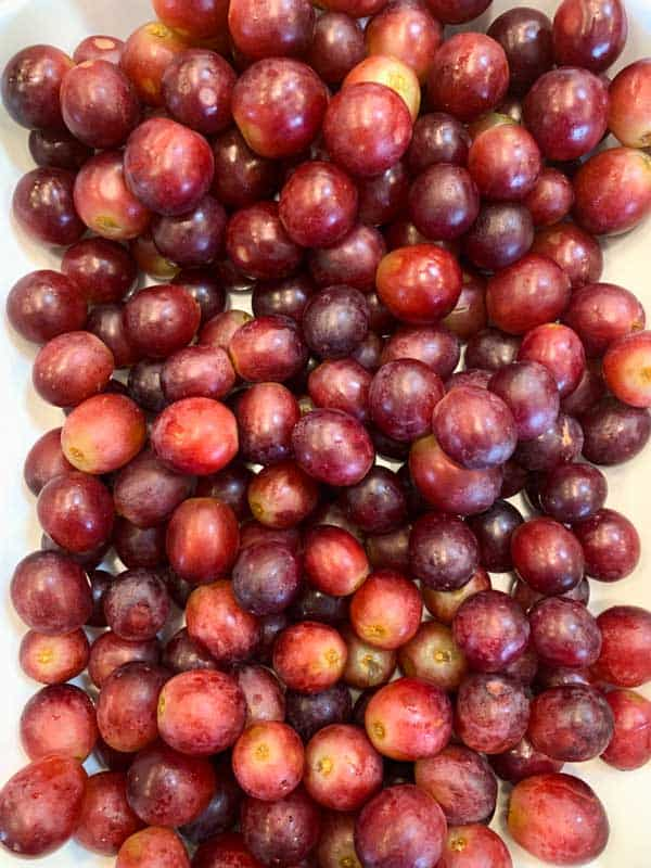 How To Wash Grapes Full Green Life