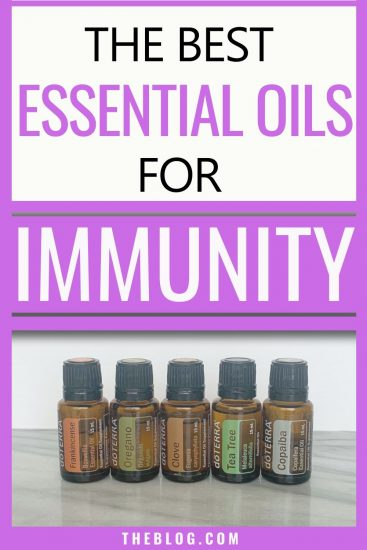 best essential oils for immunity