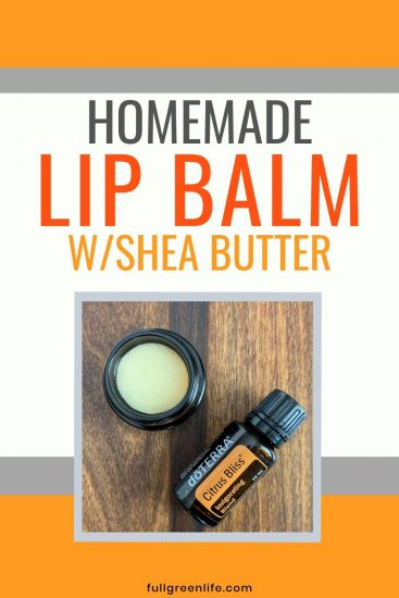 DIY Lip Balm image with Citrus Bliss essential oil