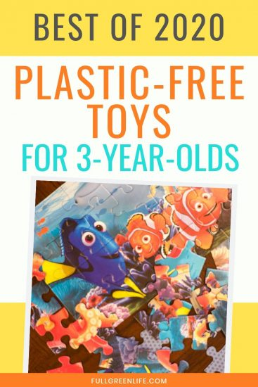 plastic-free earth-friendly toys for three-year-olds