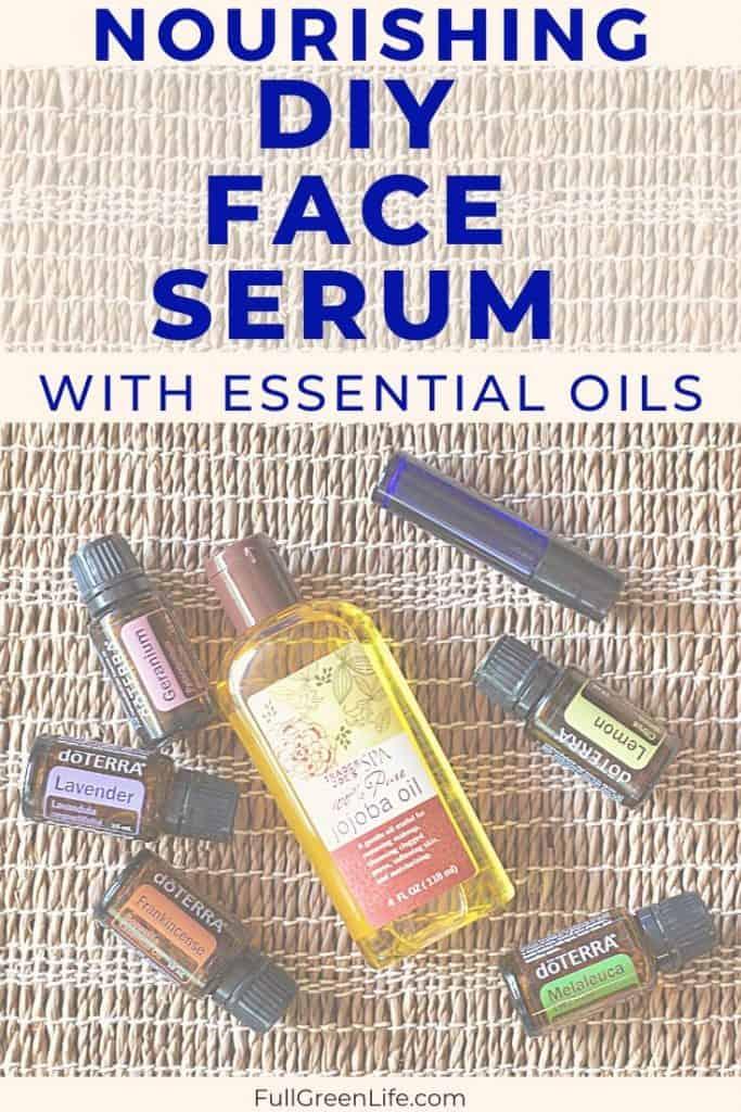 Diy Essential Oil Face Serum Full Green Life
